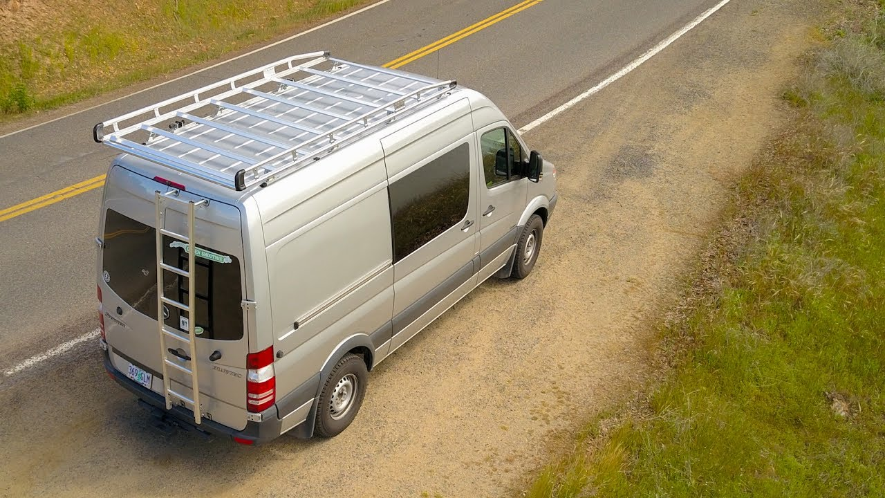 Sprinter Van Roof Rack Alurack By Prime Design Youtube