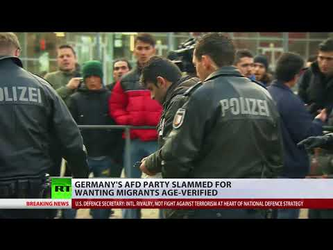 Germany's AfD party slammed for proposal to verify ages of all migrants