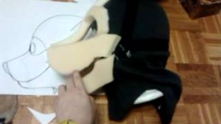 Fursuit head tutorial part 4