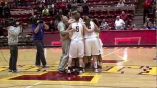 vuclip Iowa State Basketball Player Engaged at Half Court After Win