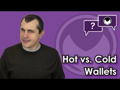 Bitcoin Q&A: Hot vs. Cold Wallets