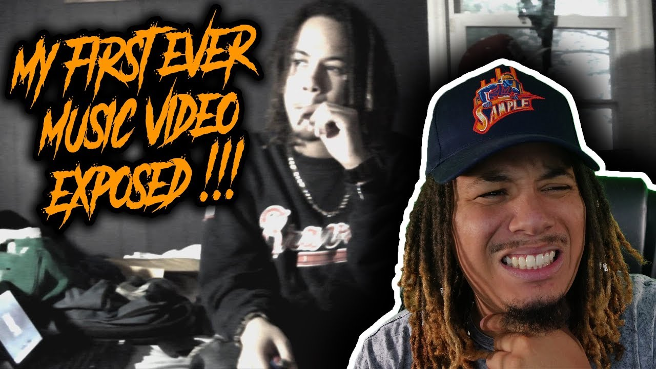 REACTING TO MY UNRELEASED MUSIC VIDEO !!! THE TRUTH ABOUT MY RAP CAREER !!!