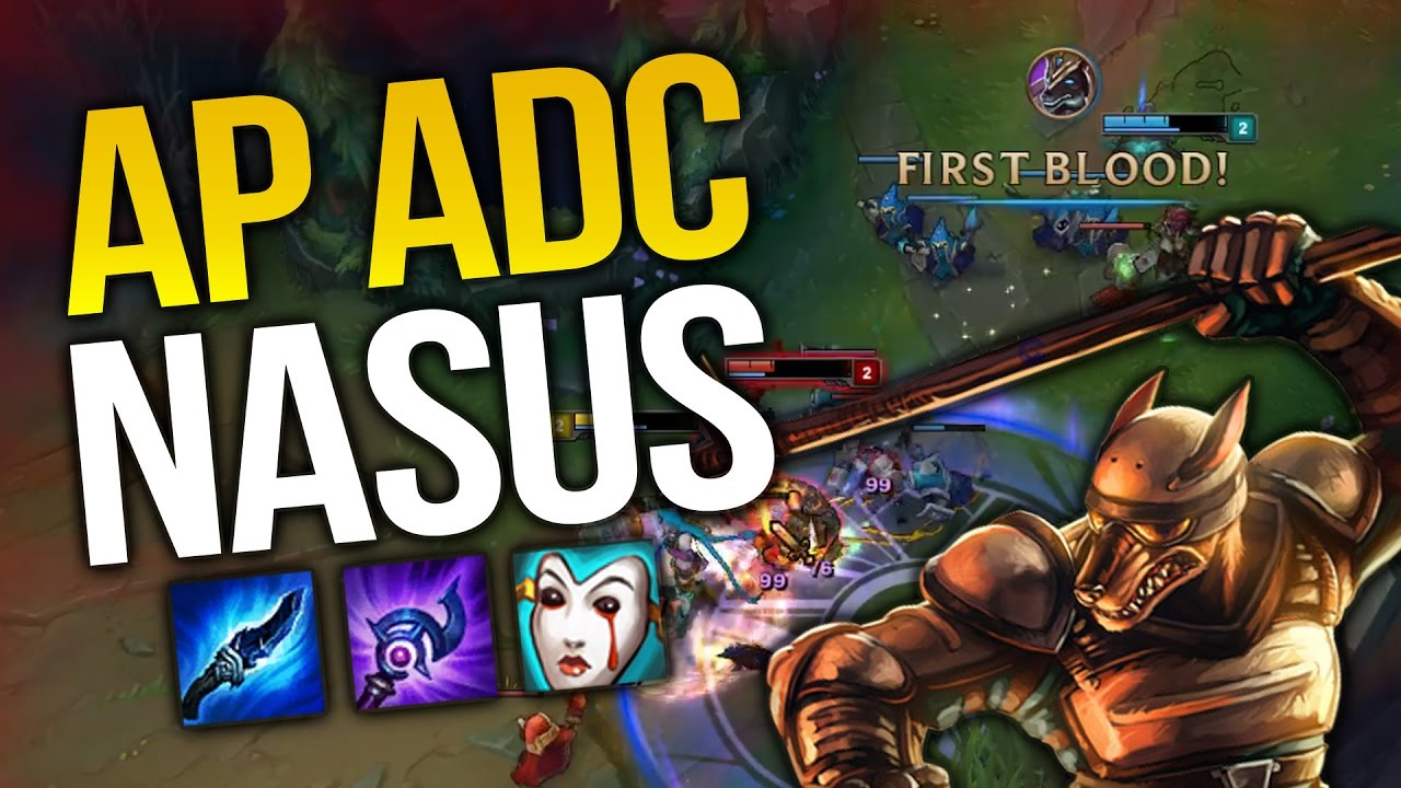 Ap Adc Nasus Bot Lane Is Op League Of Legends Youtube
