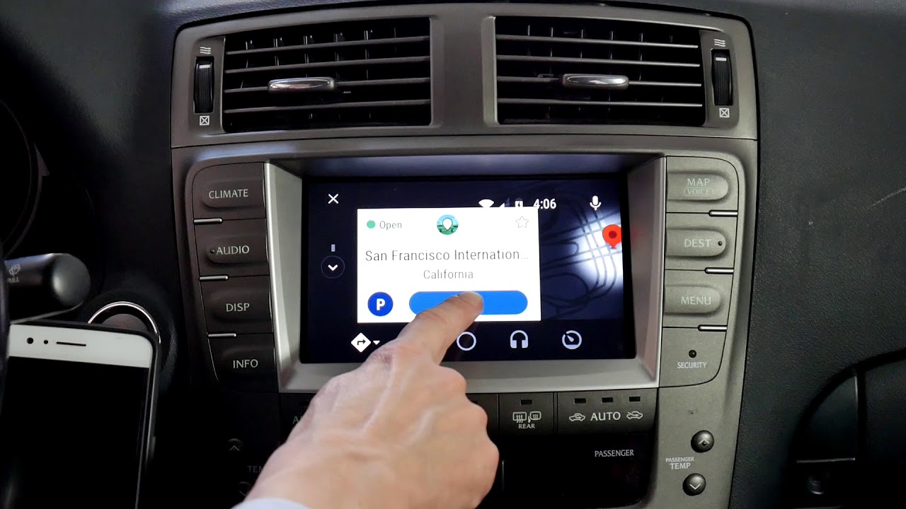 How to get Android Auto on Lexus with VLine Infotainment System Demo