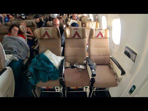 ETIHAD B787-9 Economy Class to London