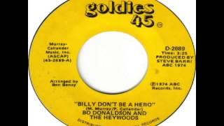 Bo Donaldson & the Heywoods - Billy Don