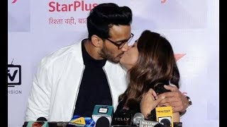 Anita Hasnandani Openly R0MANCE With Husband Rohit Reddy In Front Of Cameraman @NachBaliye9 Event