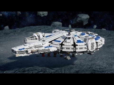 Kessel Run Millennium Falcon - LEGO STAR WARS - 75212 Product Animation