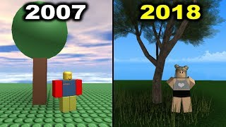 2007 Graphics VS 2018 Graphics (Roblox)