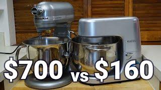 Stand Mixer Comparison - KitchenAid vs Generic