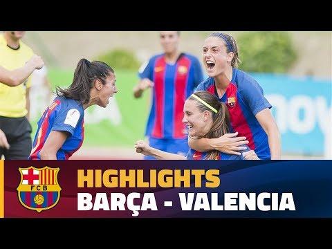 [HIGHLIGHTS] FUTBOL FEM (Copa): FC Barcelona - Valencia (2-1) thumbnail