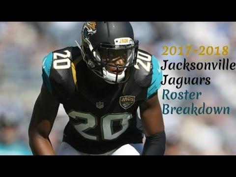 2017-2018 Jacksonville Jaguars Roster Breakdown: Madden 18 Rosters