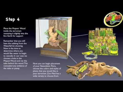 Zoo Med Naturalistic Terrarium Build Youtube