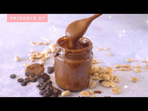 Mantequilla de Choco-Maní saludable en 10 min | Fácil y deliciosa! | Ep.7