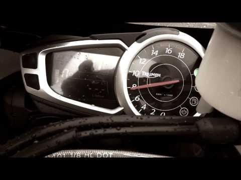 Essai moto Triumph Daytona  R