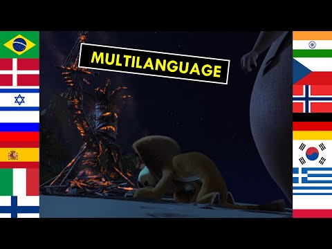 Madagascar - You Burned It Up! - 45 Languages (One Line Multilanguage)