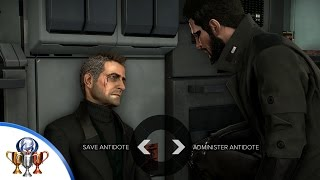 MISSABLE  Mission 1017 Deus Ex Mankind Divided Hes NOT Dead Jim trophy and achievement How to save Jim Miller By using the Antidote you saved