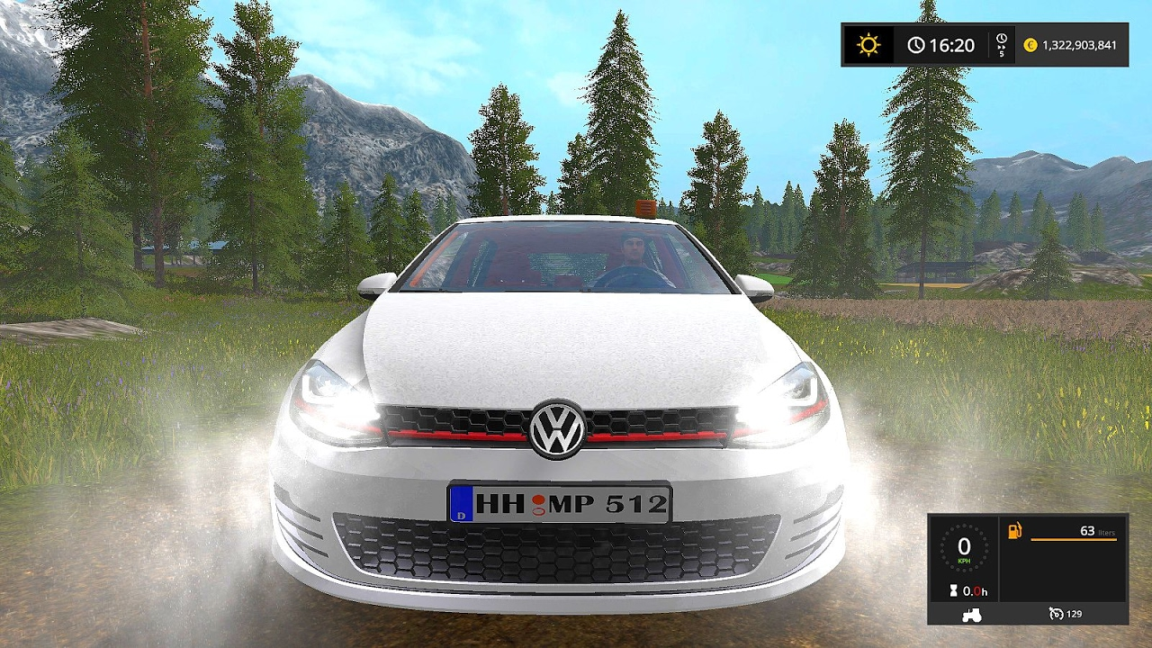 vw golf 7 fs17 farming simulator 17 youtube. Black Bedroom Furniture Sets. Home Design Ideas