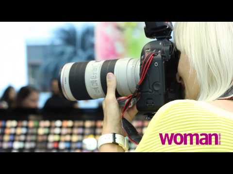 Woman This Month City Centre Bahrain Style Make over- BEHIND THE SCENES