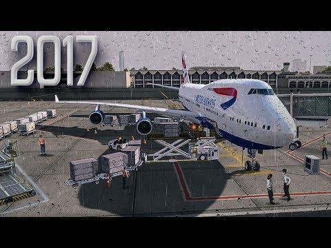 New Flight Simulator 2017 | Rainy Departure [P3D 4.0 - Spectacular Realism]