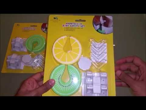 Emerald Tots Invisible Magnetic Baby Safety Cupboard & Drawer Locks Installation Guide
