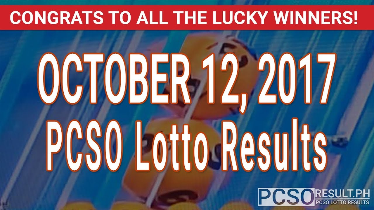 Image Result For Lotto Result Oct