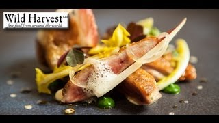 Michelin Starred Chef  Marcus Eaves: Cooks Quail Salad & Rapsberry And Coconut Dessert Recipes