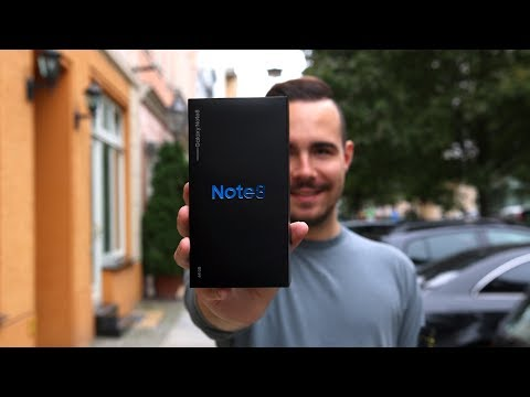 Unboxing: Samsung Galaxy Note 8 (Deutsch) | SwagTab