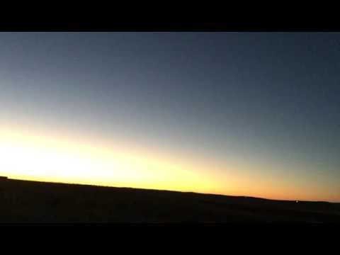A beautiful sunrise in western North Dakota.