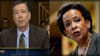 IT'S HAPPENING: LORETTA LYNCH JUST GOT THROWN UNDER THE BUS AFTER WHAT COMEY SAID SECONDS AGO…