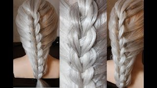 Cute and Easy  Hairstyle For School