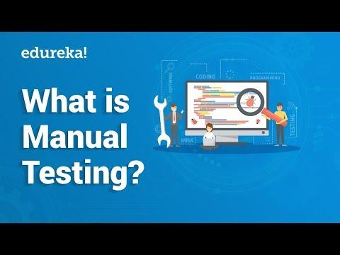 What is Manual Testing? | Manual Testing Tutorial For Beginners | Edureka thumbnail