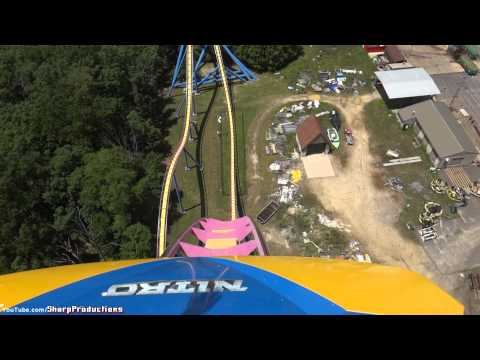 Nitro (On-Ride) Six Flags Great Adventure
