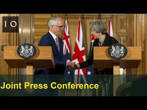 Press conference with Australian PM Malcolm Turnbull: 10 July 2017