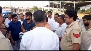 Rajesh Nagar MLA Tigaon, किसानों के धान का खरीदा जाएगा हर दाना, तिगांव अनाज मंडी पहुंचकर बोले विधायक
