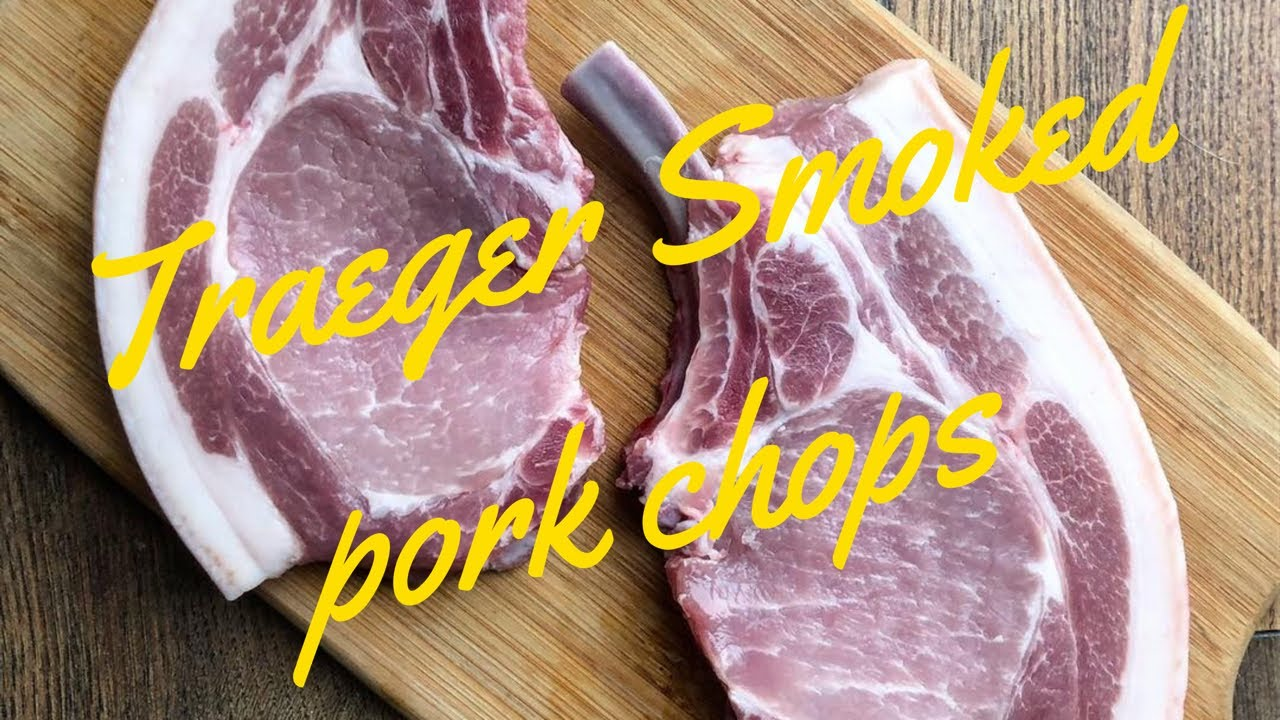 How to cook pork chops on a traeger grill