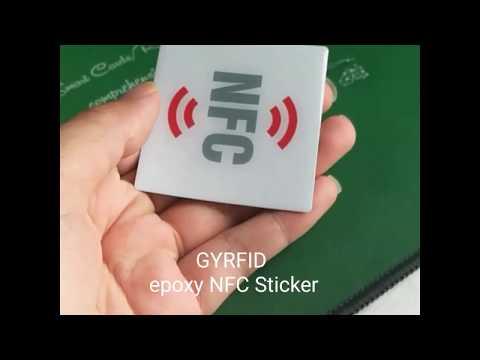 Video NFC Epoxy Sticer GYRFID