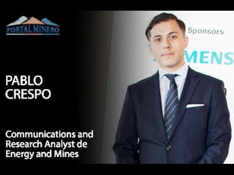 Pablo Crespo, Communications and Research Analyst de Energy and Mines