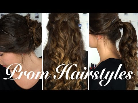 Easy DIY Prom Hairstyles 2017   Olivia Mecca