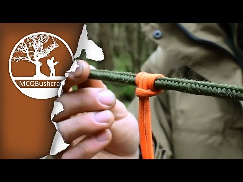 Essential Knots: Bushcraft & Tarp Setups