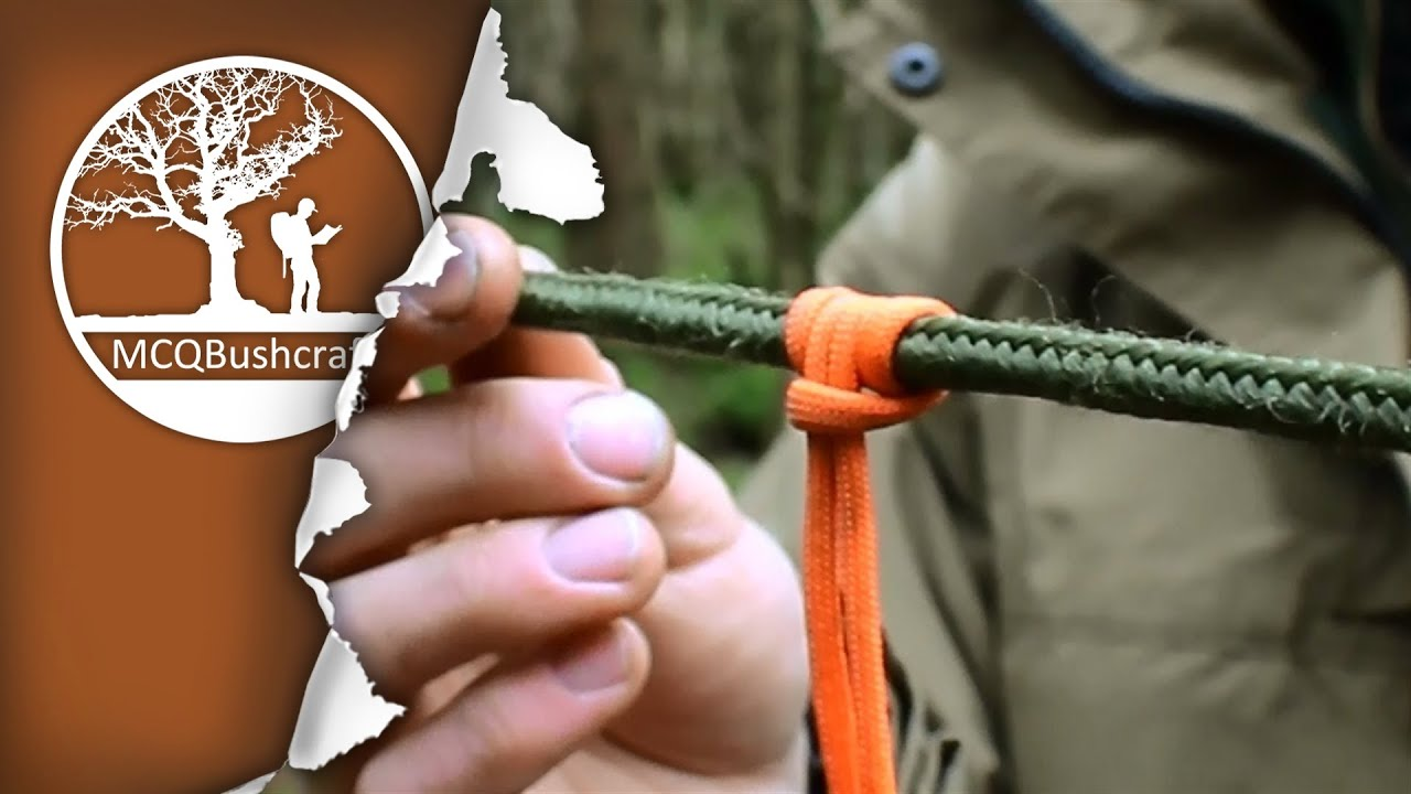 Bushcraft Essential Knots for Shelter & Tarp Setups