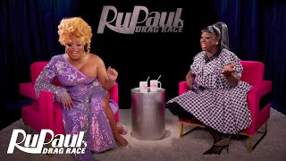 The Pit Stop S12 E2 | Peppermint & Bob Recap the Second Premiere | RuPaul's Drag Race
