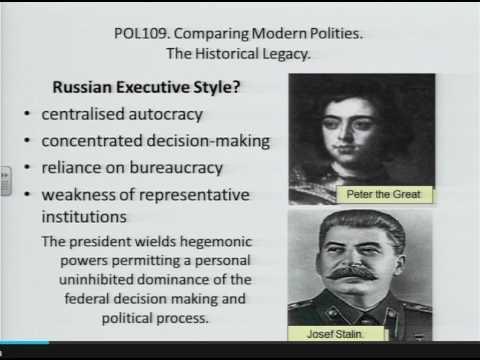The Russian Presidency