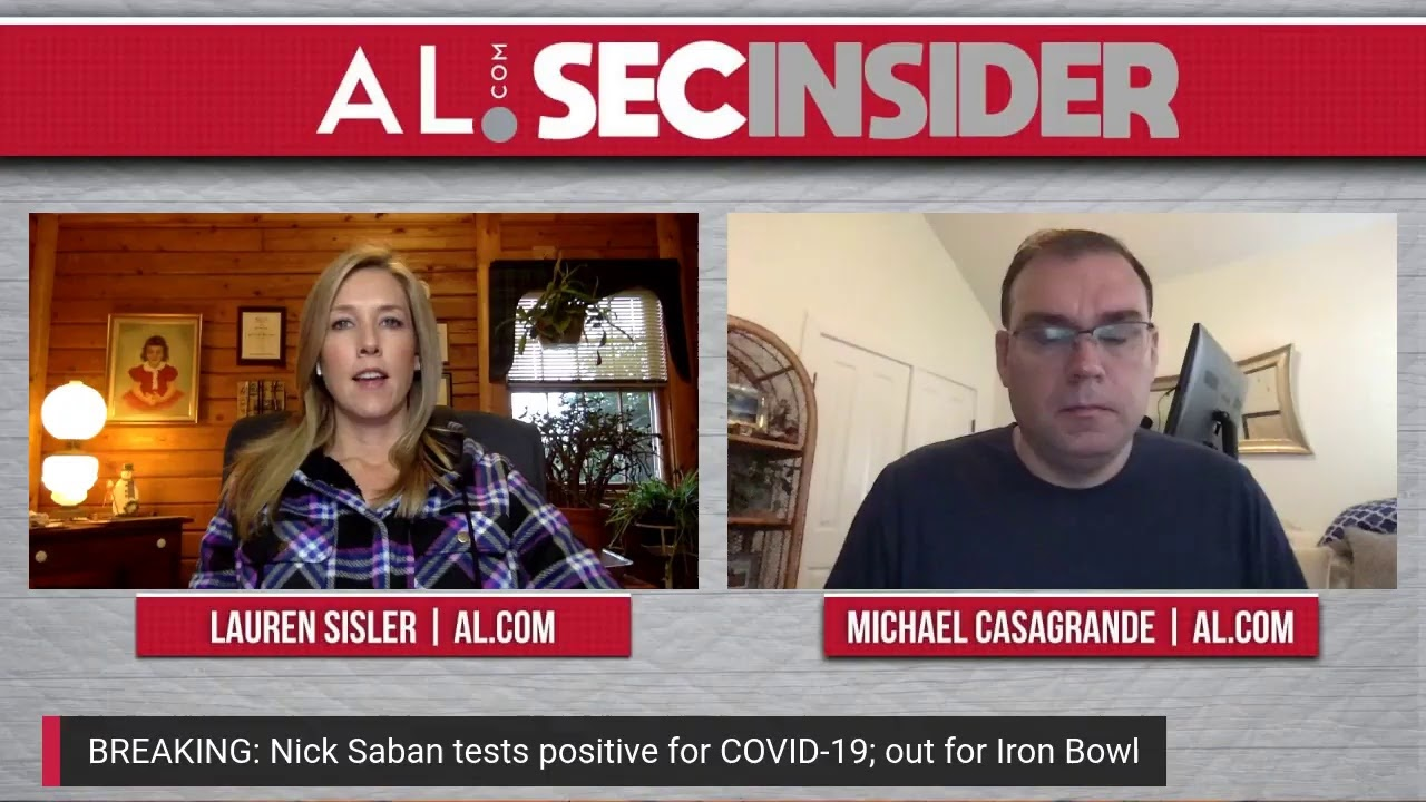 Alabama Coach Nick Saban Tests Positive for COVID-19
