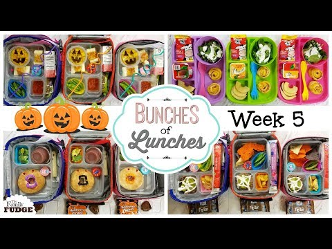 School Lunch Ideas & What They Ate! 🍎 JK, K, 1st Grade, 2nd Grade   Bunches Of Lunches