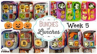 School Lunch Ideas & What They Ate! 🍎 JK, K, 1st grade, 2nd Grade | Bunches of Lunches