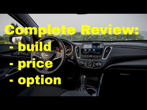 2019 Chevrolet Malibu Premier FWD - Build & Price Review: Interior, Packages, Colors, Engines