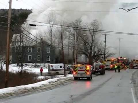 Bethlehem Nh Structure Fire