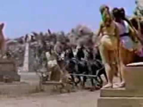 All-girl chariot racing on Lesbos, ca 600 BC