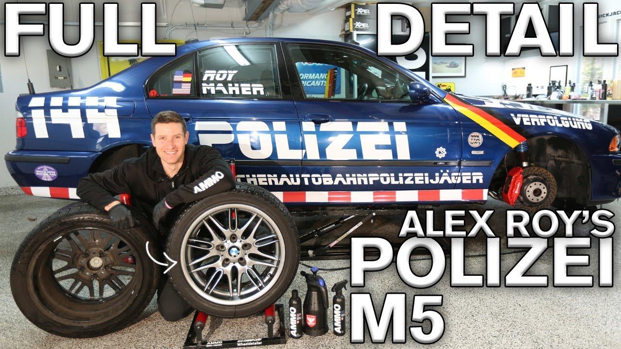 Sticker removal s polizei m5